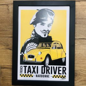 cadre le taxi Narbonne