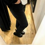Jean droit noir