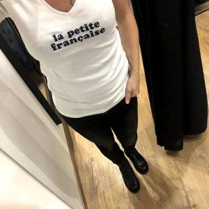 Tee-shirt THIBAULT blanc la petite française