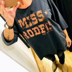 SWEAT MISS RODEO GRIS SAND COACHELLA